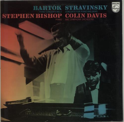 Sir Colin Davis Bartok: Piano Concerto No. 2 / Stravinsky: Concerto For Piano And Wind vinyl LP album (LP record) UK XRSLPBA688229