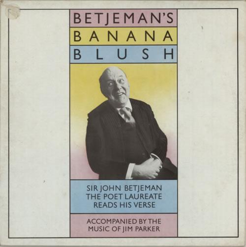 Sir John Betjeman Betjeman's Banana Blush vinyl LP album (LP record) UK 0JBLPBE560279