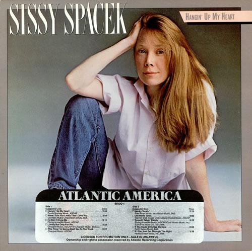 Sissy Spacek Hangin' Up My Heart vinyl LP album (LP record) US UQ0LPHA459995