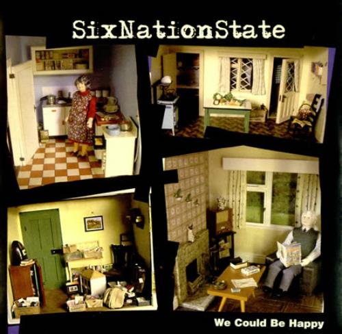 "SixNationState We Could Be Happy - Yellow Vinyl 7"" vinyl single (7 inch record) UK 6NS07WE419604"