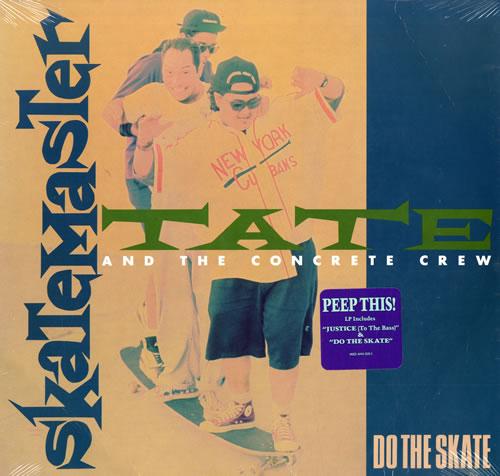 Skatemaster Tate Do The Skate vinyl LP album (LP record) US U2BLPDO557203