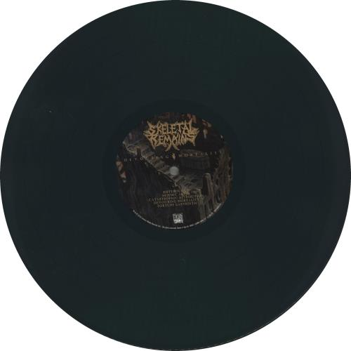 Skeletal Remains Devouring Mortality - Green Vinyl vinyl LP album (LP record) German Y4HLPDE715923