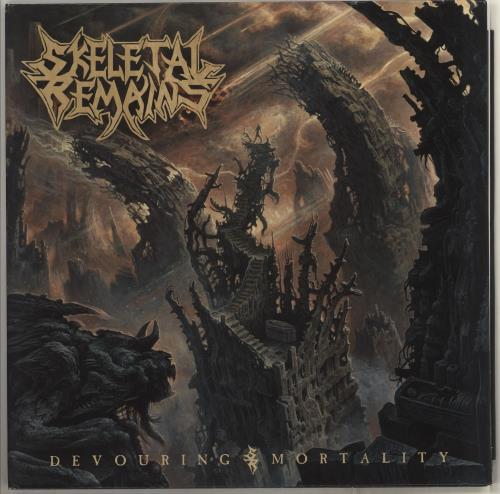 Skeletal Remains Devouring Mortality vinyl LP album (LP record) US Y4HLPDE708389