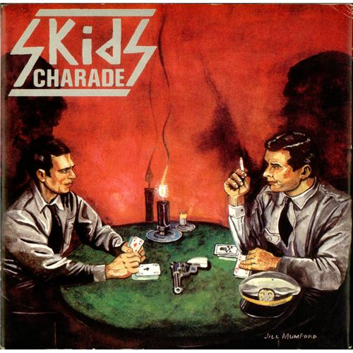"Skids Charade 7"" vinyl single (7 inch record) UK SKD07CH139005"