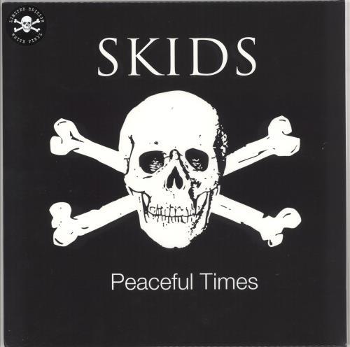 Skids Peaceful Times - White Vinyl - Sealed vinyl LP album (LP record) UK SKDLPPE724803