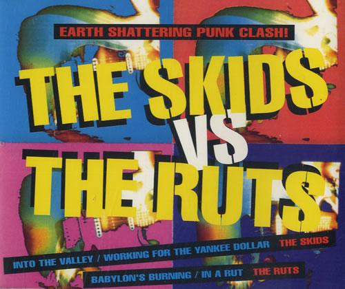 "Skids The Skids vs The Ruts CD single (CD5 / 5"") UK SKDC5TH562738"