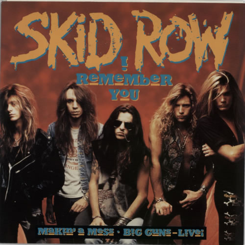 Skid Row (80s) I Remember You UK 12