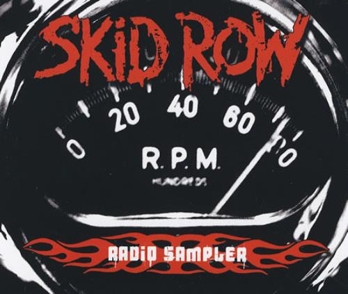 "Skid Row (80s) Radio Sampler CD single (CD5 / 5"") German SROC5RA381116"