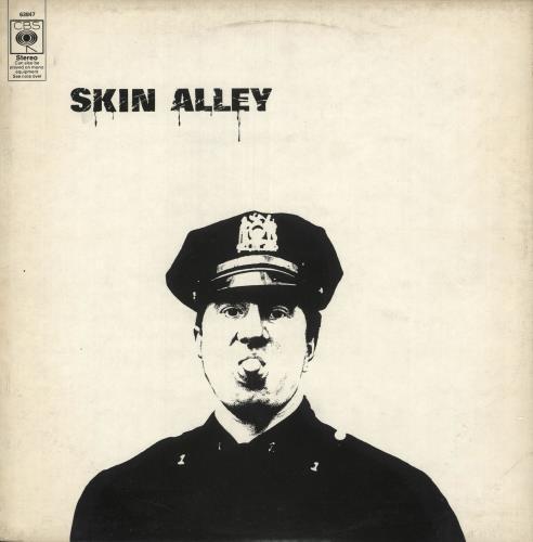 Skin Alley Skin Alley vinyl LP album (LP record) UK S/ALPSK743331
