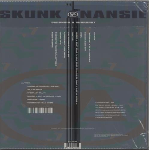 Skunk Anansie Paranoid & Sunburnt - DMM - 200gm Vinyl + Numbered 2-LP vinyl record set (Double Album) UK SKU2LPA438199