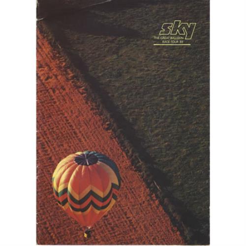 Sky (John Williams) The Great Balloon Race Tour '85 tour programme UK SKYTRTH244313