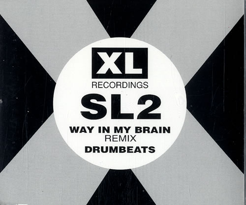 "SL2 Way In My Brain CD single (CD5 / 5"") UK SL2C5WA505691"