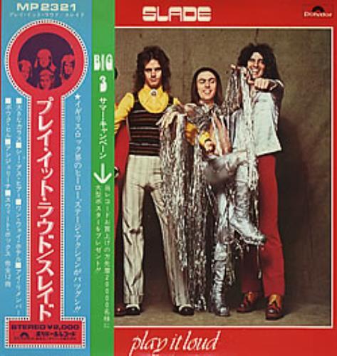 Slade Play It Loud + Obi vinyl LP album (LP record) Japanese SDELPPL281794