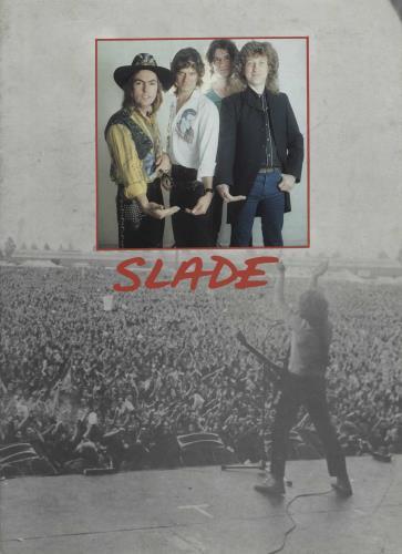 Slade Slade + Ticket Stub tour programme UK SDETRSL756720
