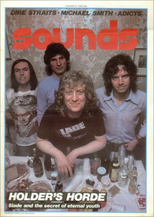 Slade Sounds magazine UK SDEMASO523487