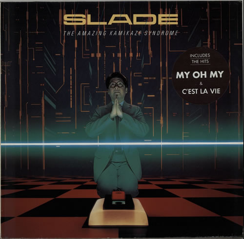 Slade The Amazing Kamikaze Syndrome - stickered p/s vinyl LP album (LP record) German SDELPTH629533