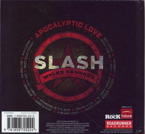 Slash Apocalyptic Love CD album (CDLP) UK AS4CDAP769004