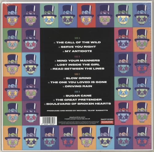 Slash Living The Dream - 180gram Red Vinyl - Sealed UK 2 ...