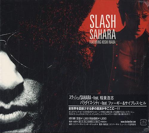 """Slash Sahara CD single (CD5 / 5"""") Japanese AS4C5SA499288"""