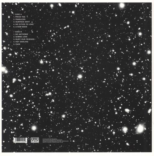 Sleater-Kinney No Cities To Love - Autographed vinyl LP album (LP record) US S1KLPNO749038
