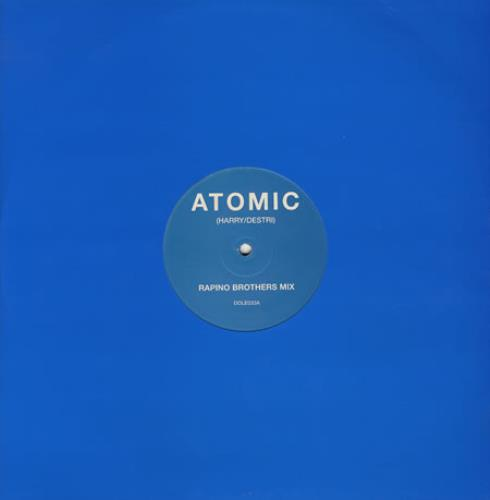"Sleeper Atomic 12"" vinyl single (12 inch record / Maxi-single) UK SLP12AT383840"
