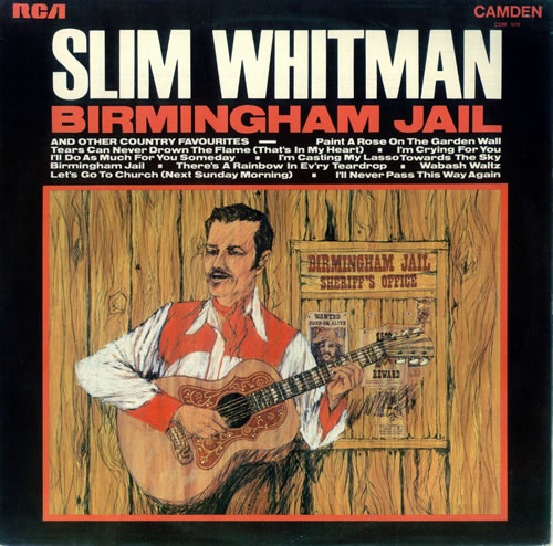 Slim Whitman Birmingham Jail Uk Vinyl Lp Album Lp Record
