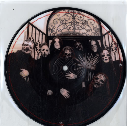 Slipknot Vermilion Uk 7 Quot Vinyl Picture Disc 7 Inch Picture