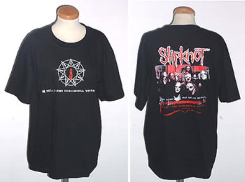 Slipknot Vol 3 The Subliminal Verses T Shirt Thailand
