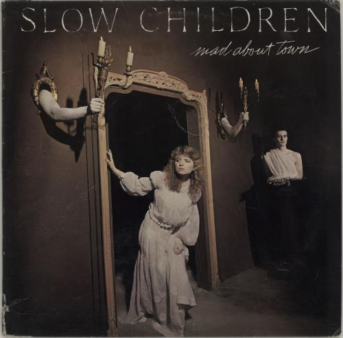Slow Children Mad About Town vinyl LP album (LP record) US 2SCLPMA677546