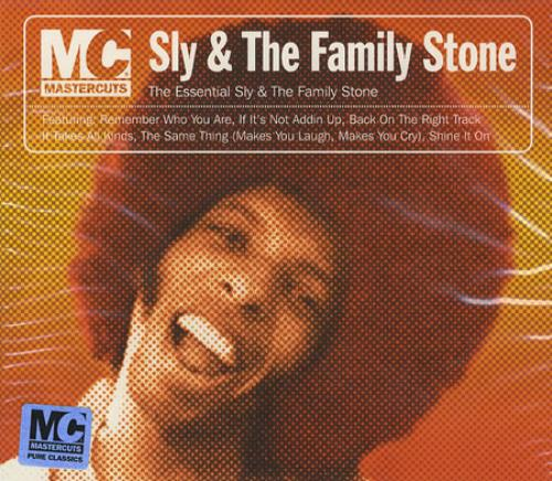 Sly & The Family Stone The Essential Sly & The Family Stone CD album (CDLP) UK SFSCDTH366246