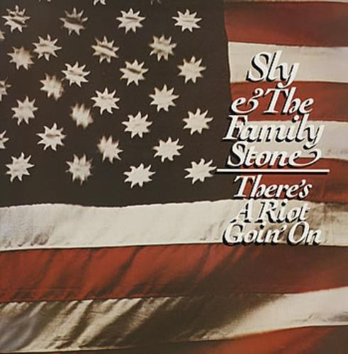 Sly & The Family Stone There's A Riot Goin' On vinyl LP album (LP record) UK SFSLPTH319716