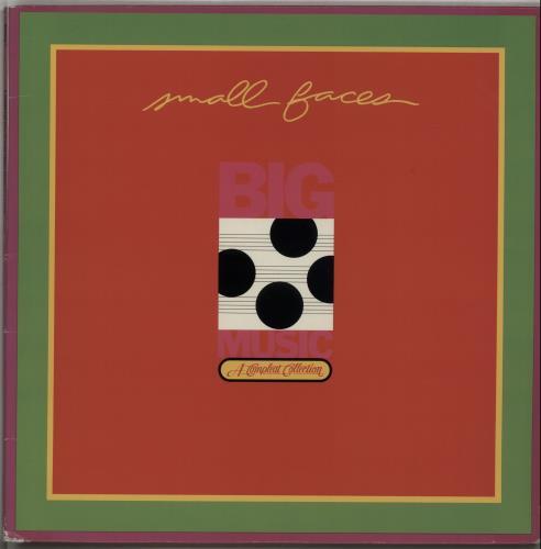 Small Faces Big Music 2-LP vinyl record set (Double Album) US SMF2LBI487182