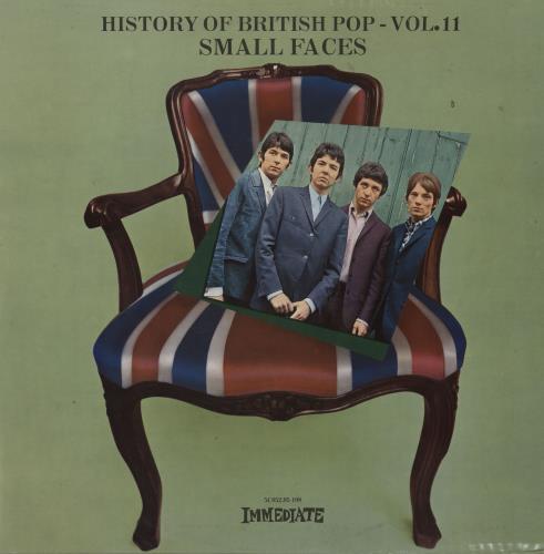 Small Faces History Of British Pop - Vol II vinyl LP album (LP record) Dutch SMFLPHI671169