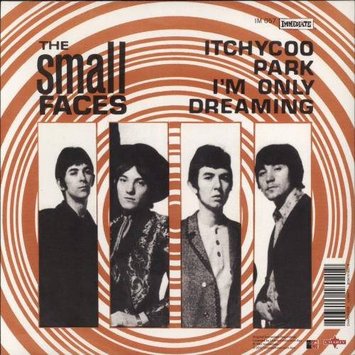 """Small Faces Itchycoo Park - RSD12 7"""" vinyl single (7 inch record) UK SMF07IT683161"""