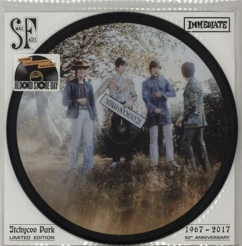 """Small Faces Itchycoo Park - RSD17 10"""" Vinyl Picture Disc (10"""" Record Single) UK SMF1PIT682341"""