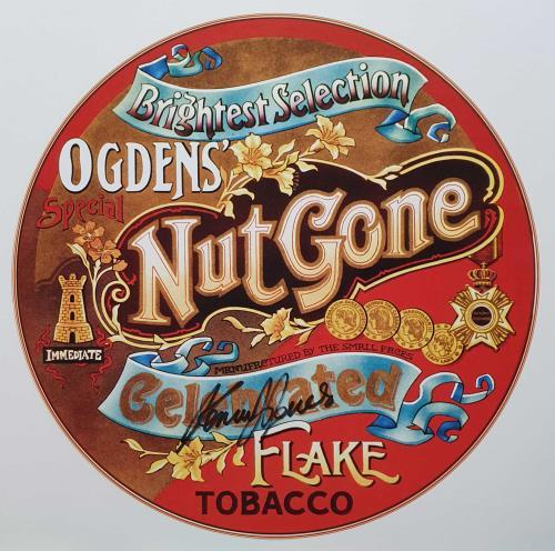 Small Faces Ogdens' Nut Gone Flake: 50th Anniversary - Coloured Vinyl + Signed Print Vinyl Box Set UK SMFVXOG741586