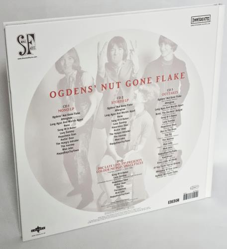 Small Faces Ogdens' Nut Gone Flake: 50th Anniversary 3-disc CD/DVD Set UK SMF3DOG771429