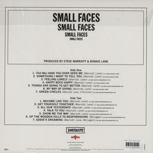 Small Faces Small Faces - 180gm vinyl LP album (LP record) German SMFLPSM754773