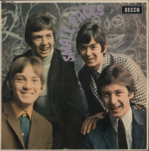 Small Faces Small Faces - 1st - EX vinyl LP album (LP record) UK SMFLPSM210497