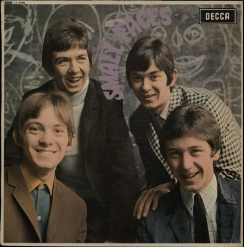 Small Faces Small Faces - 1st - G vinyl LP album (LP record) UK SMFLPSM647346