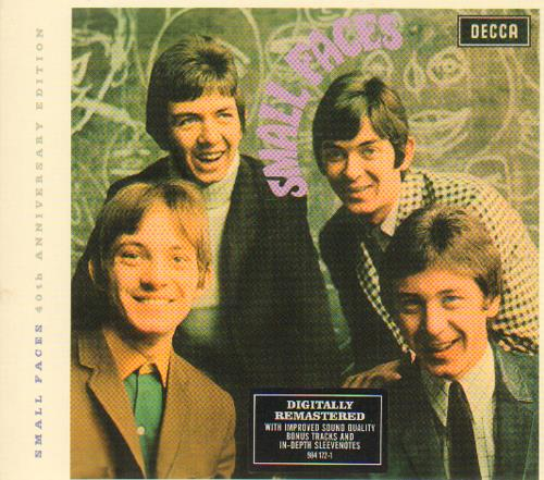 Small Faces Small Faces CD album (CDLP) UK SMFCDSM378740