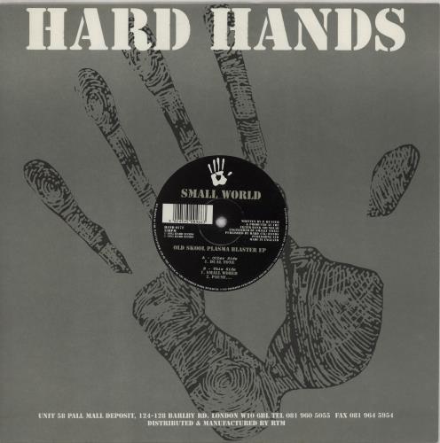"Small World Old Skool Plasma Blaster EP 12"" vinyl single (12 inch record / Maxi-single) UK 2TE12OL763872"