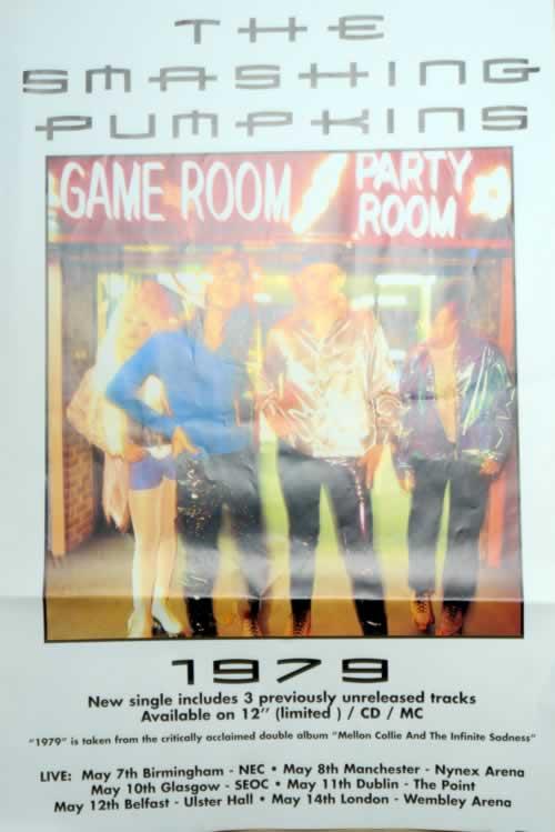 Smashing Pumpkins 1979 - Nineteen Seventy Nine poster UK SMPPONI222628