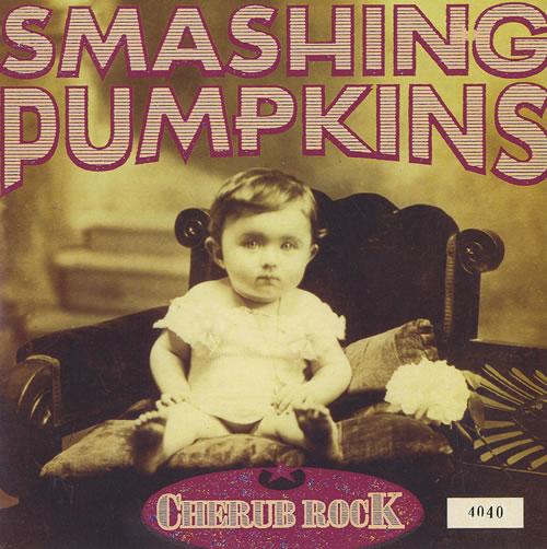 "Smashing Pumpkins Cherub Rock - Clear Vinyl 7"" vinyl single (7 inch record) UK SMP07CH53937"