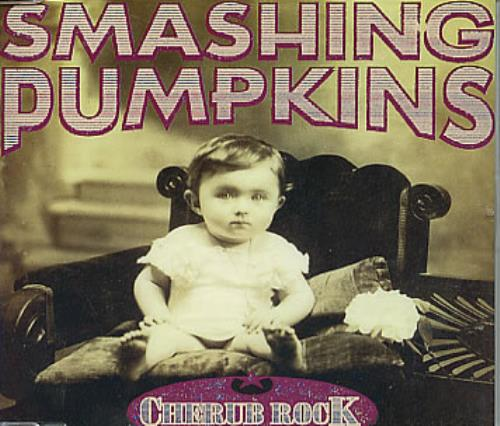 "Smashing Pumpkins Cherub Rock CD single (CD5 / 5"") UK SMPC5CH50956"