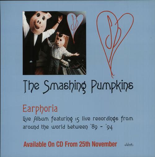 Smashing Pumpkins Earphoria display UK SMPDIEA632043