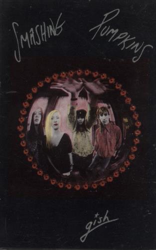 Smashing Pumpkins Gish & Siamese Dream Cassette Albums cassette album UK SMPCLGI682707