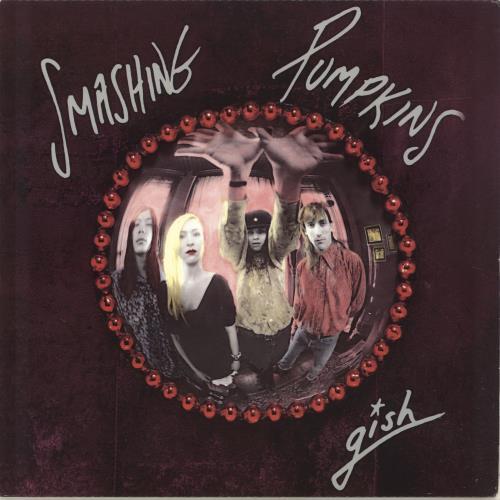 Smashing Pumpkins Gish - Fully Autographed vinyl LP album (LP record) US SMPLPGI607137