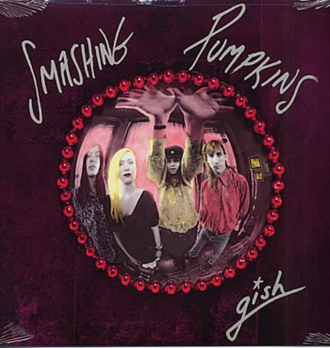 Smashing Pumpkins Gish - Sealed vinyl LP album (LP record) US SMPLPGI285110