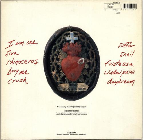 Smashing Pumpkins Gish - VG vinyl LP album (LP record) UK SMPLPGI697732
